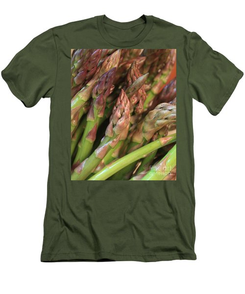 Asparagus Tips 2 Men's T-Shirt (Slim Fit) by Carol Groenen