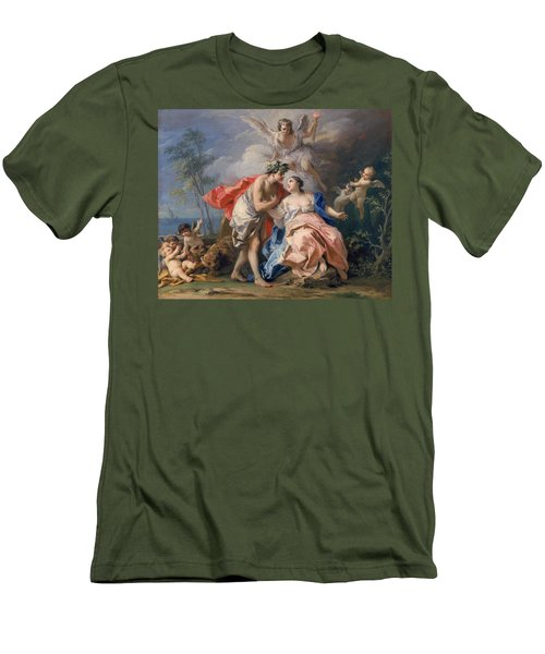 Bacchus And Ariadne Men's T-Shirt (Slim Fit) by Jacopo Amigoni