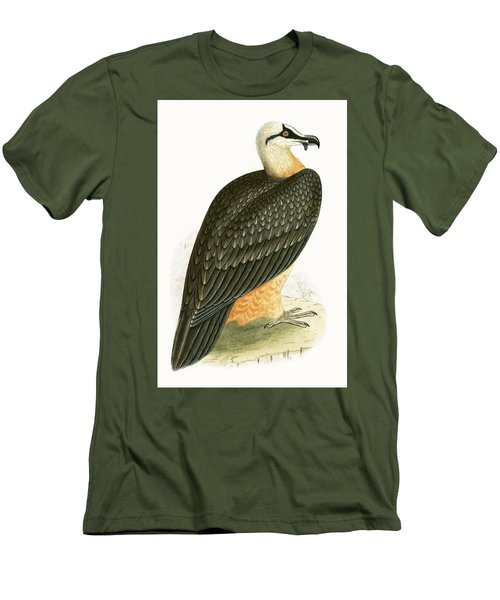 Bearded Vulture Men's T-Shirt (Slim Fit) by English School