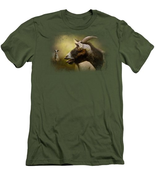 Calling Men's T-Shirt (Slim Fit) by Jai Johnson