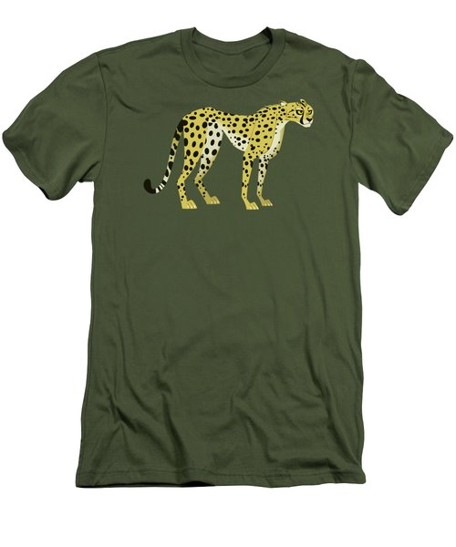Cheetah Men's T-Shirt (Slim Fit) by Wild Kratts