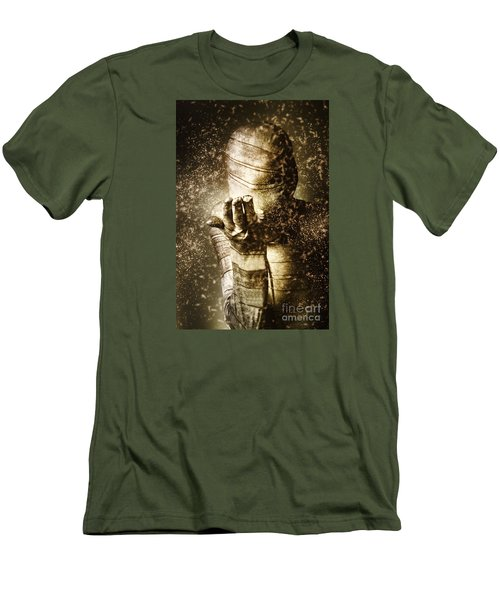 Curse Of The Mummy Men's T-Shirt (Slim Fit) by Jorgo Photography - Wall Art Gallery