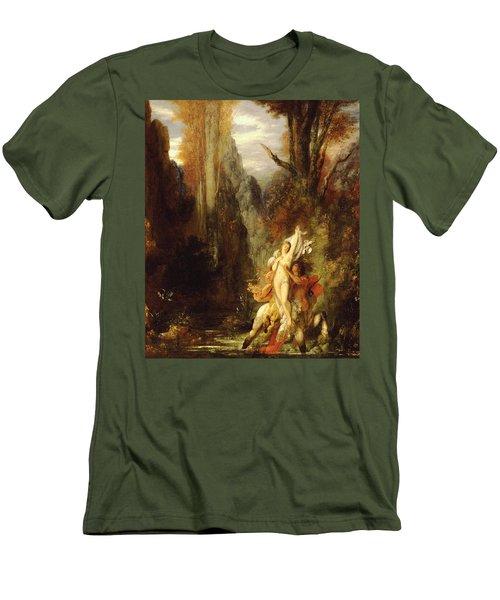 Dejanira  Autumn Men's T-Shirt (Slim Fit) by Gustave Moreau
