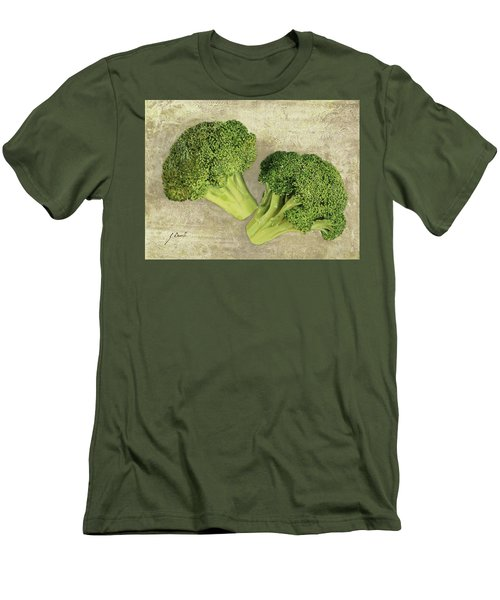 Due Broccoletti Men's T-Shirt (Slim Fit) by Guido Borelli