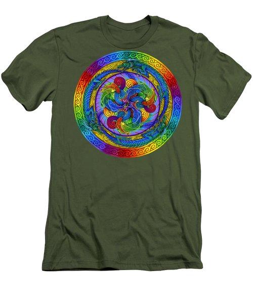 Epiphany Men's T-Shirt (Slim Fit) by Rebecca Wang
