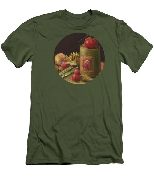 Freshly Picked Men's T-Shirt (Slim Fit) by Mary Wolf