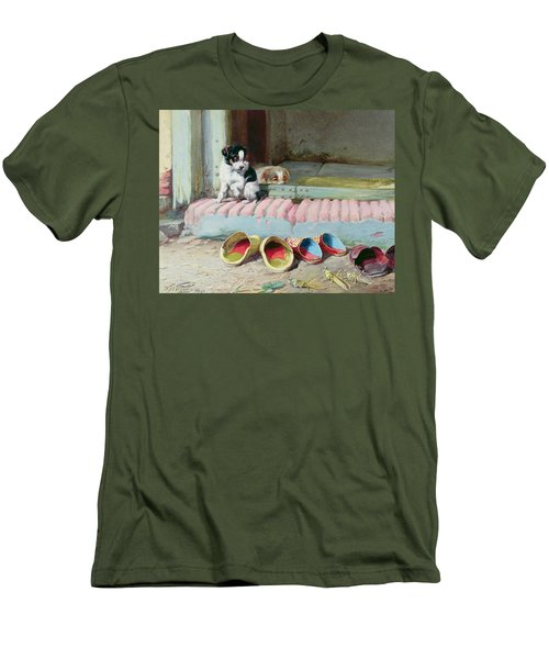 Friend Or Foe Men's T-Shirt (Slim Fit) by William Henry Hamilton Trood
