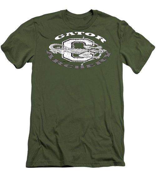 Gator Archery Men's T-Shirt (Slim Fit) by Julio Lopez