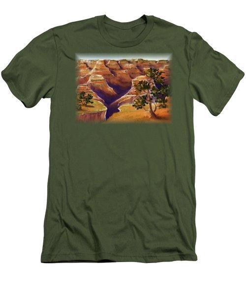 Grand Canyon Men's T-Shirt (Slim Fit) by Anastasiya Malakhova