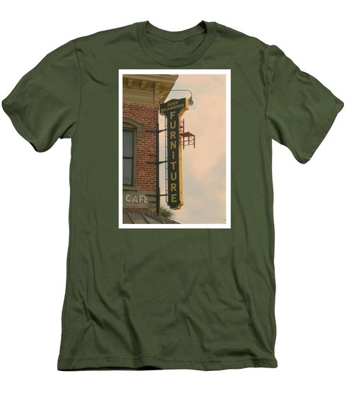 Juan's Furniture Store Men's T-Shirt (Slim Fit) by Robert Youmans