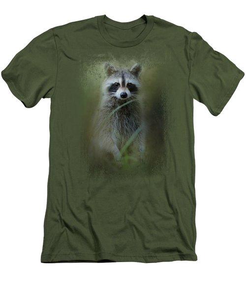 Little Bandit Men's T-Shirt (Slim Fit) by Jai Johnson
