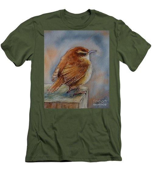 Little Friend Men's T-Shirt (Slim Fit) by Patricia Pushaw