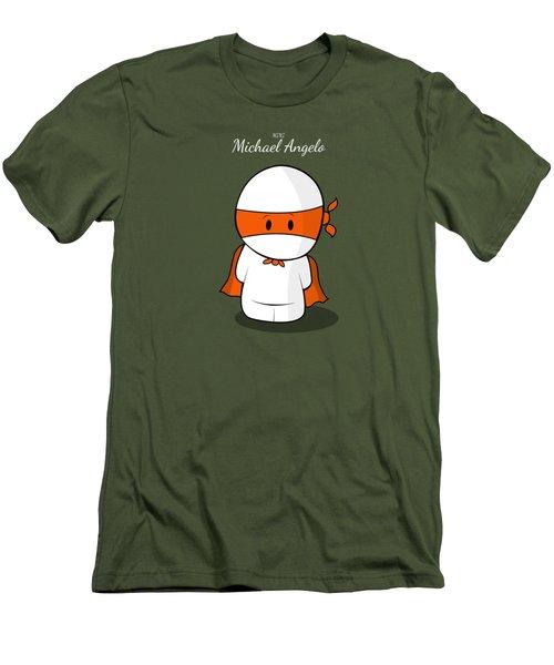 Mini Super Hero Men's T-Shirt (Slim Fit) by Islam Hassan
