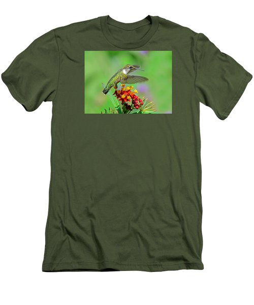 Men's T-Shirt (Slim Fit) featuring the photograph Nature's Majesty by Rodney Campbell