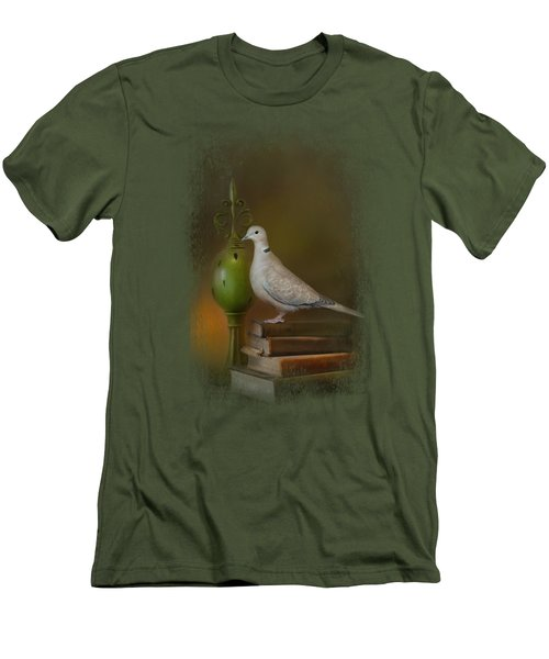 Read Me A Story Men's T-Shirt (Slim Fit) by Jai Johnson