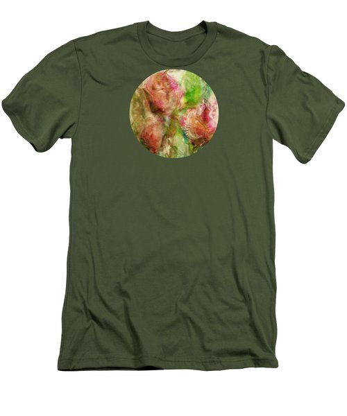 Spring Garden  Men's T-Shirt (Slim Fit) by Mary Wolf