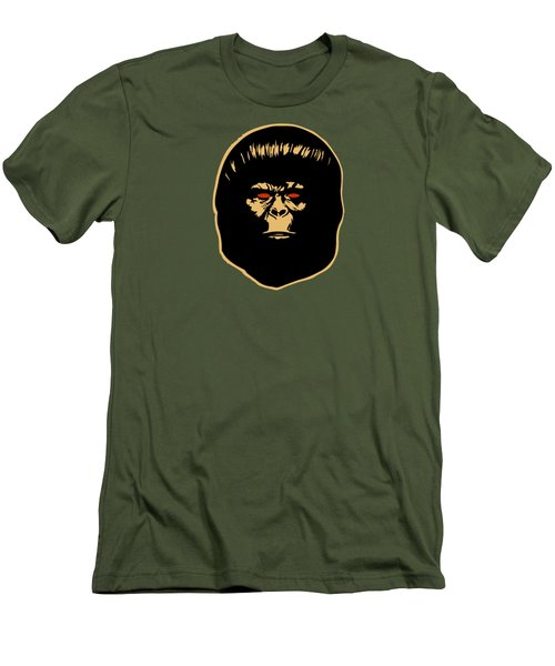 The Ape Men's T-Shirt (Slim Fit) by Jurgen Rivera