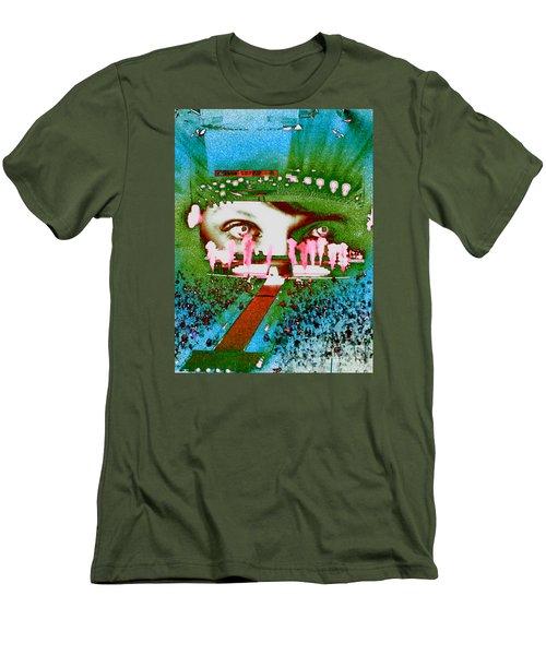 Through The Eyes Of Taylor Men's T-Shirt (Slim Fit) by Kim Peto