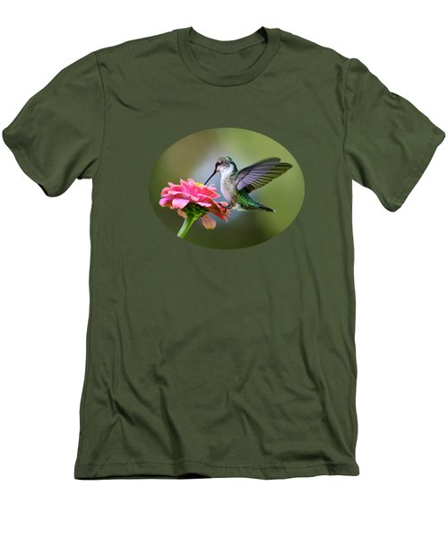Tranquil Joy Men's T-Shirt (Slim Fit) by Christina Rollo