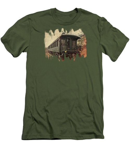 Virginia City Pullman Men's T-Shirt (Slim Fit) by Thom Zehrfeld