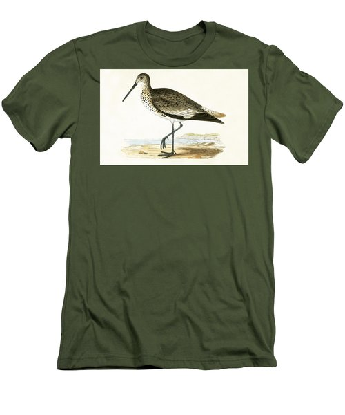 Willet Men's T-Shirt (Slim Fit) by English School