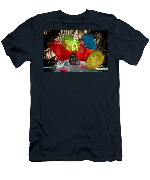 Shirley Temple Cocktail Men's T-Shirt (Slim Fit) by Iris Richardson