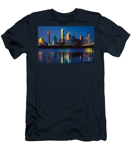 Big D Reflection Men's T-Shirt (Slim Fit) by Inge Johnsson