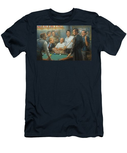 Callin The Blue Men's T-Shirt (Slim Fit) by Andy Thomas