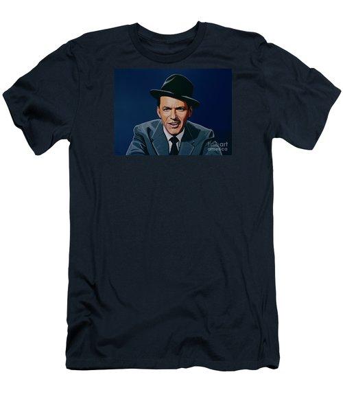 Frank Sinatra Men's T-Shirt (Slim Fit) by Paul Meijering