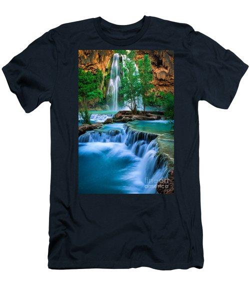 Havasu Paradise Men's T-Shirt (Slim Fit) by Inge Johnsson