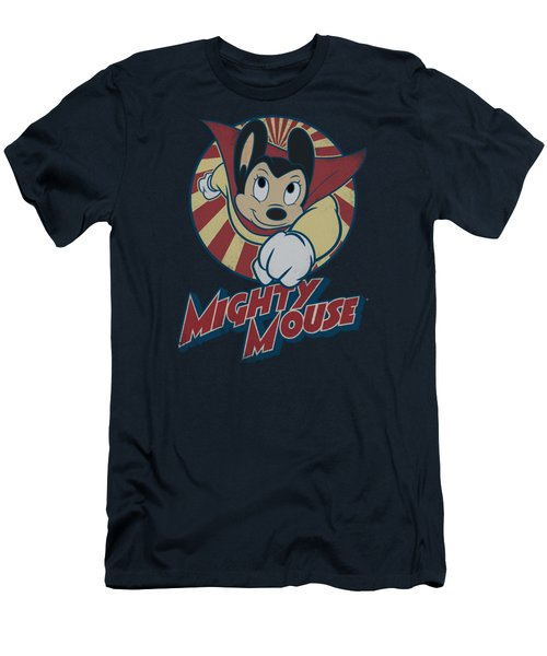 Mighty Mouse - The One The Only Men's T-Shirt (Slim Fit) by Brand A