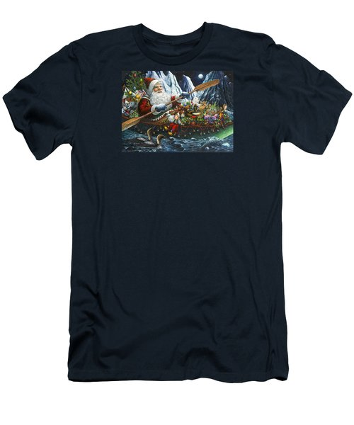 Northern Passage Men's T-Shirt (Slim Fit) by Lynn Bywaters