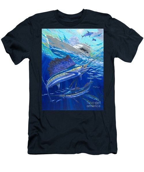 Out Of Sight Men's T-Shirt (Slim Fit) by Carey Chen