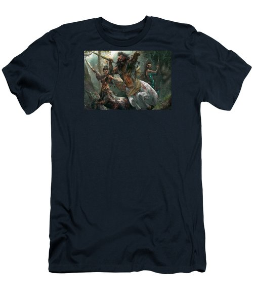 Pheres-band Raiders Men's T-Shirt (Slim Fit) by Ryan Barger