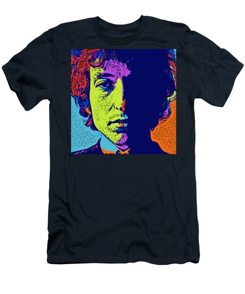 Pop Art Dylan Men's T-Shirt (Slim Fit) by David G Paul