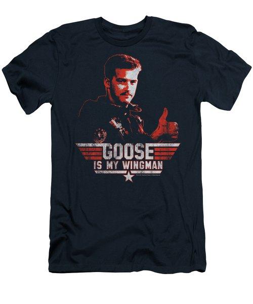 Top Gun - Wingman Goose Men's T-Shirt (Slim Fit) by Brand A