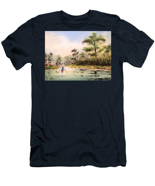Wacissa River  Men's T-Shirt (Slim Fit) by Bill Holkham