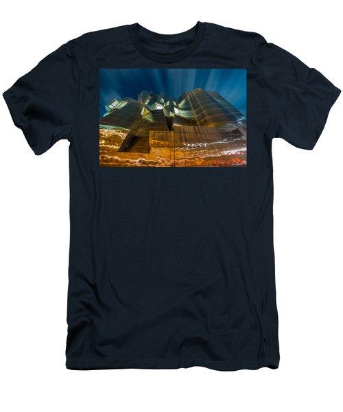 Weisman Art Museum Men's T-Shirt (Slim Fit) by Mark Goodman