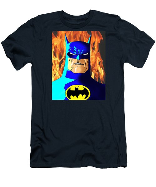 Old Batman Men's T-Shirt (Slim Fit) by Salman Ravish