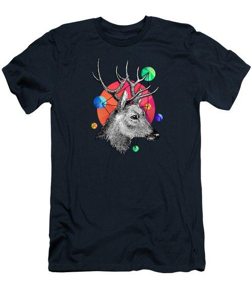 Deer Men's T-Shirt (Slim Fit) by Mark Ashkenazi