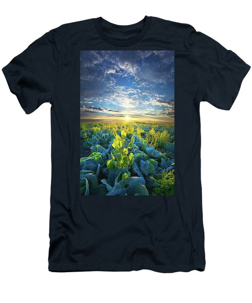 All Joined As One Men's T-Shirt (Slim Fit) by Phil Koch