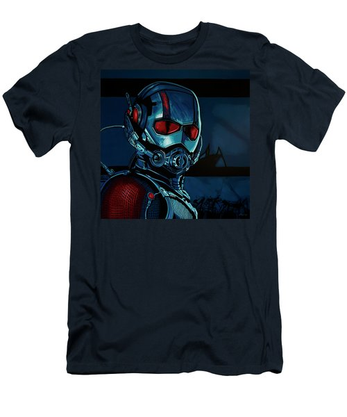 Ant Man Painting Men's T-Shirt (Slim Fit) by Paul Meijering