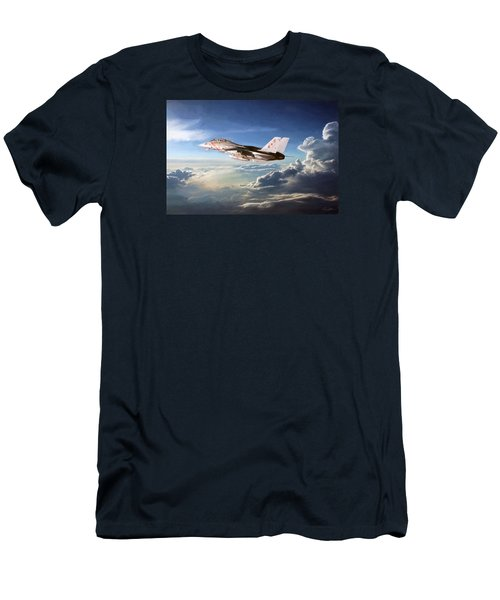Diamonds In The Sky Men's T-Shirt (Slim Fit) by Peter Chilelli