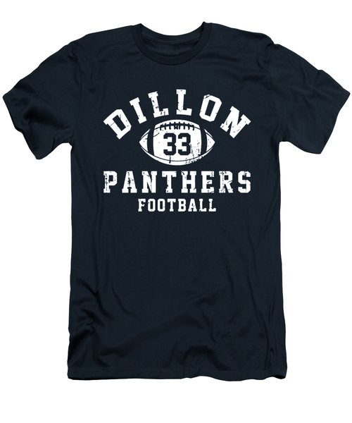 Dillon Panthers Football Men's T-Shirt (Slim Fit) by Pendi Kere