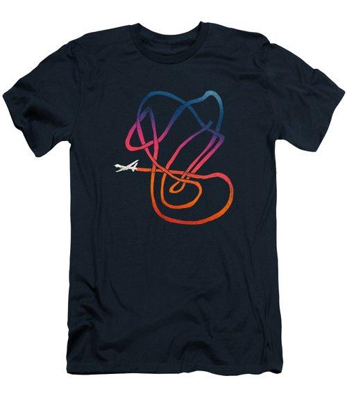 Drunk Drone Men's T-Shirt (Slim Fit) by Illustratorial Pulse
