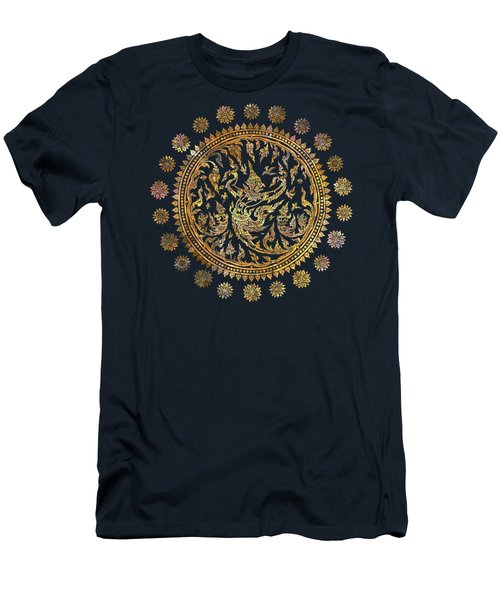 Garuda's Golden Victory - Color Edition Men's T-Shirt (Slim Fit) by David Ardil