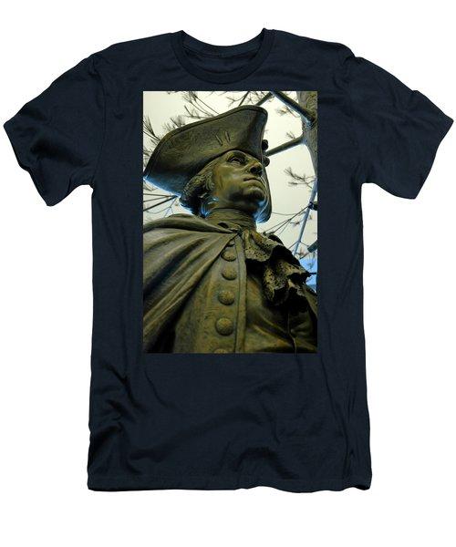 General George Washington Men's T-Shirt (Slim Fit) by LeeAnn McLaneGoetz McLaneGoetzStudioLLCcom