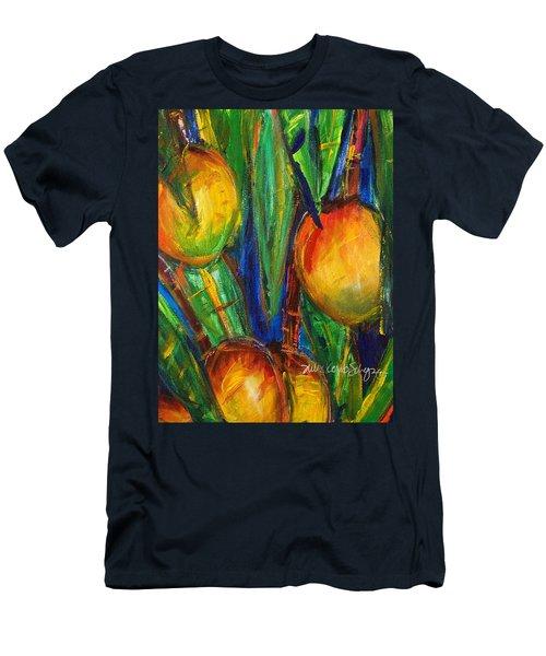 Mango Tree Men's T-Shirt (Slim Fit) by Julie Kerns Schaper - Printscapes
