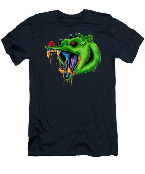 Not Yo Mama's Gummy Bear Men's T-Shirt (Slim Fit) by Vicki Von Doom