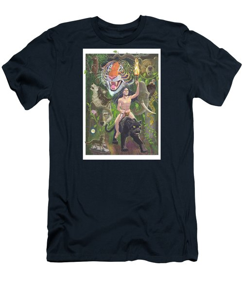 Savage Men's T-Shirt (Slim Fit) by J L Meadows